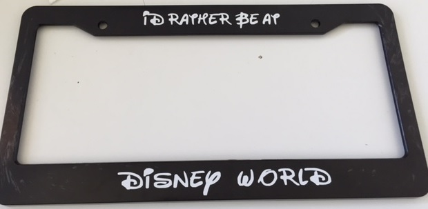 I\'d Rather Be At Disney World Script Style - and 50 similar items