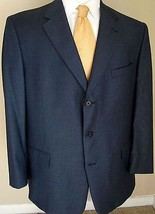Loro Piana Blazer Daniel Cremieux 44R Blue 3 Buttons Made France Sport J... - $81.18 CAD