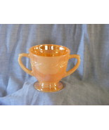 Fire King Peach Lustre Laurel sugar bowl - $9.99