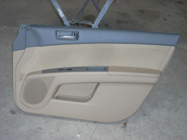 2009 NISSAN SENTRA RIGHT FRONT DOOR TRIM PANEL