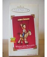 2002 Hallmark Keepsake Ornament Disney Pixar Woody and Bullseye - $30.00