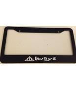 """Harry Potter Deathly Triangle """" Always """" - Black License Plate Frame hog... - $13.99"""