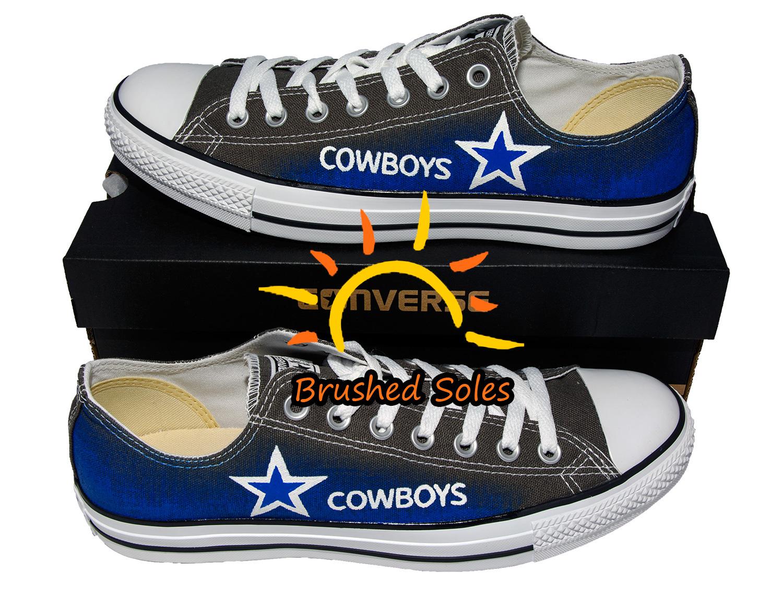 Dallas Cowboys Wedge Wide Shoes
