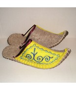 NEW Kyrgyz Felt Wool Handmade Slippers House Sh... - $20.99