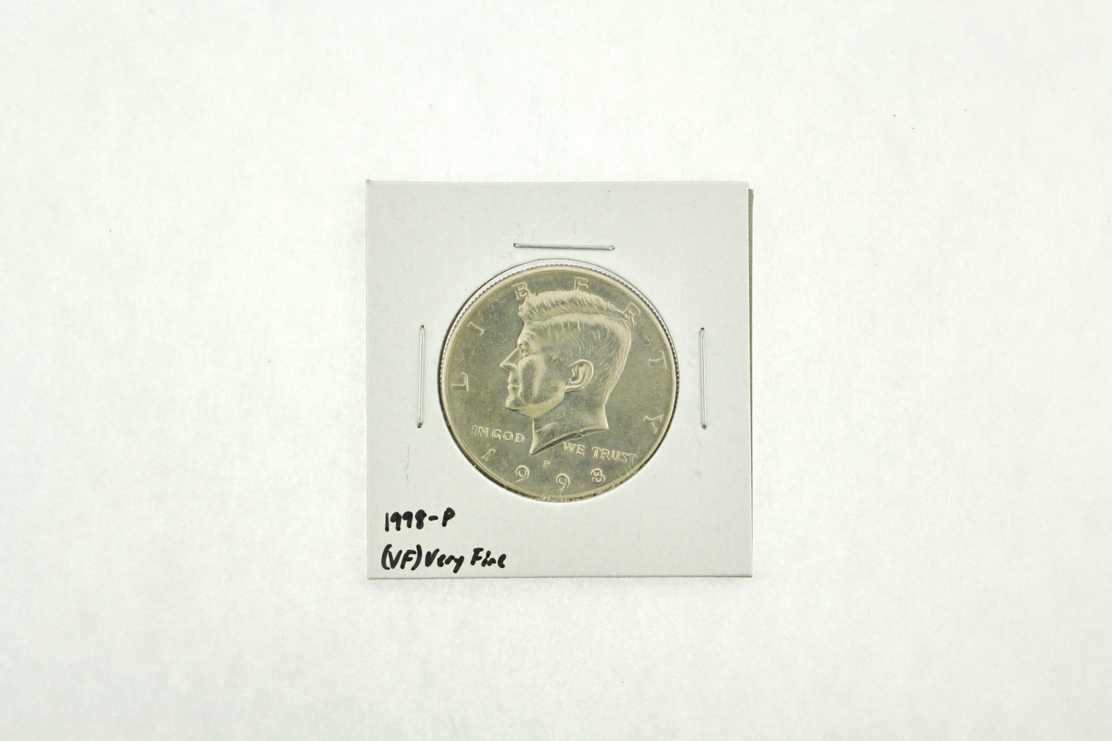 1998-P Kennedy Half Dollar (VF) Very Fine N2-3951-3