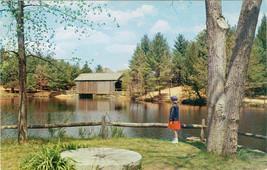 Vintage Dummerston Vermont Covered Bridge Postcard Old Sturbridge Villag... - $1.50