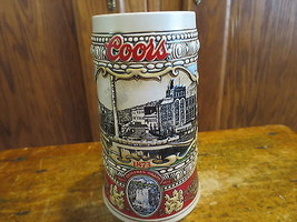 Coors Brewery Stein with Handle 1988 Edition Brazil #54632 - $15.87