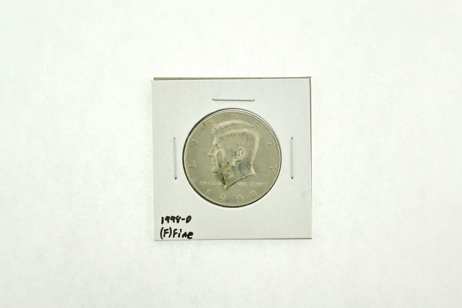 1998-D Kennedy Half Dollar (F) Fine N2-3973-3