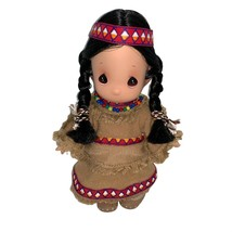 Vintage Precious Moments Native American Doll by Samuel Butcher 1989 - $20.00