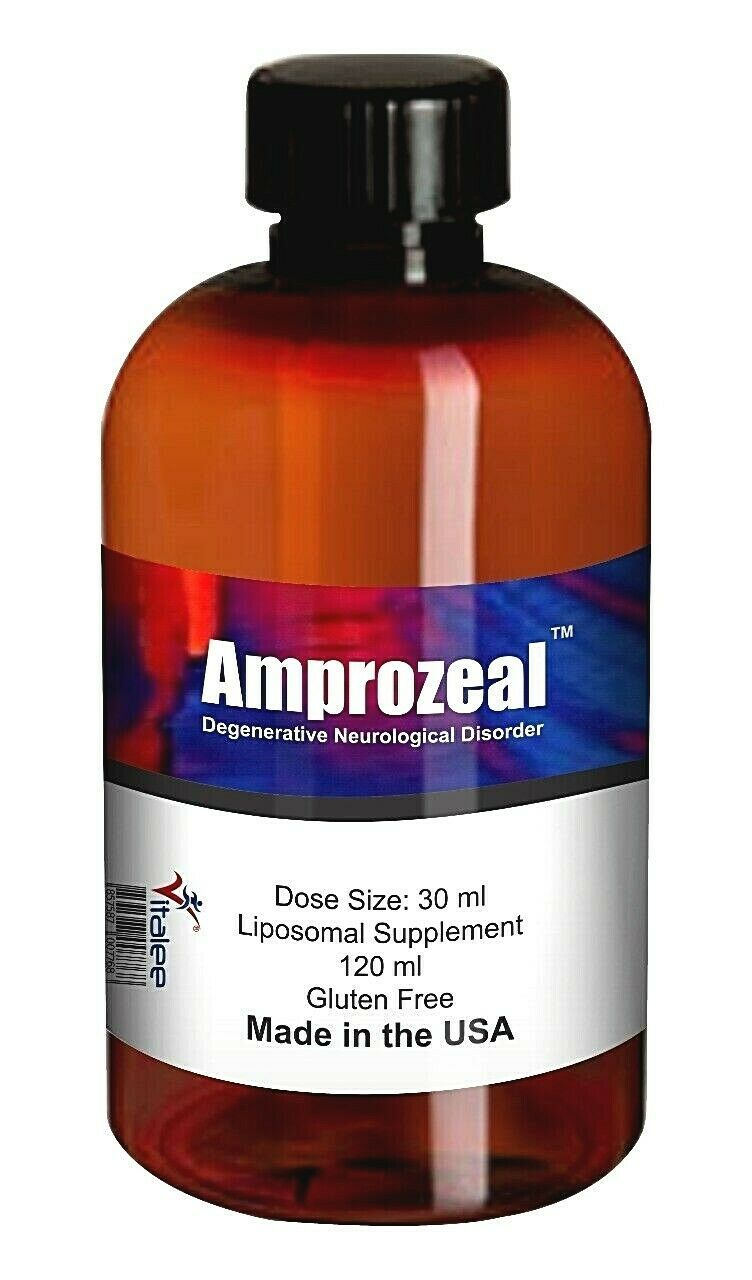 Primary image for Amprozeal Neurological Disorder Supplement (Liquid 120 ml)