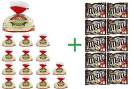 Guerrero White Corn Tortillas 18 CT (Pack of 15) + 10 Pack M&M Chocolate... - $93.90