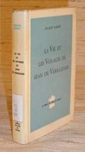 LIFE & VOYAGES OF JEAN DE VERRAZANE - French Text/1964 - $17.50