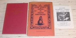 GOURD IN FOLK LITERATURE + SOCIETY 10TH ANNIV. BOOKLET - $30.00