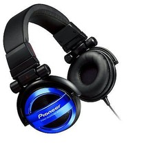 Pioneer Sealed dynamic stereo headphones Blue SE-MJ732-L  - $45.49