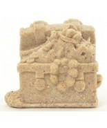 "SAND-DECO Sand Sculpture Figurine Treasure Chest 1450H 1 7/8"" Tall Beach... - $12.99"