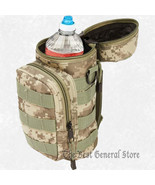 "600d Digital Camo Water Bottle MOLLE Pouch 10"" - $21.99"