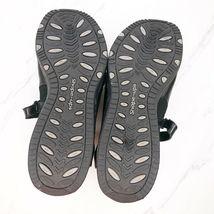 Skechers Shape Ups Mary Jane 7.5 Black Shoes Womens Sneakers Toning Rocker image 6