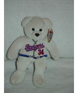 1999 Rangers Nolan Ryan # 34 Cooperstown Plush Stuffed Bean Bag Plushlan... - $27.50