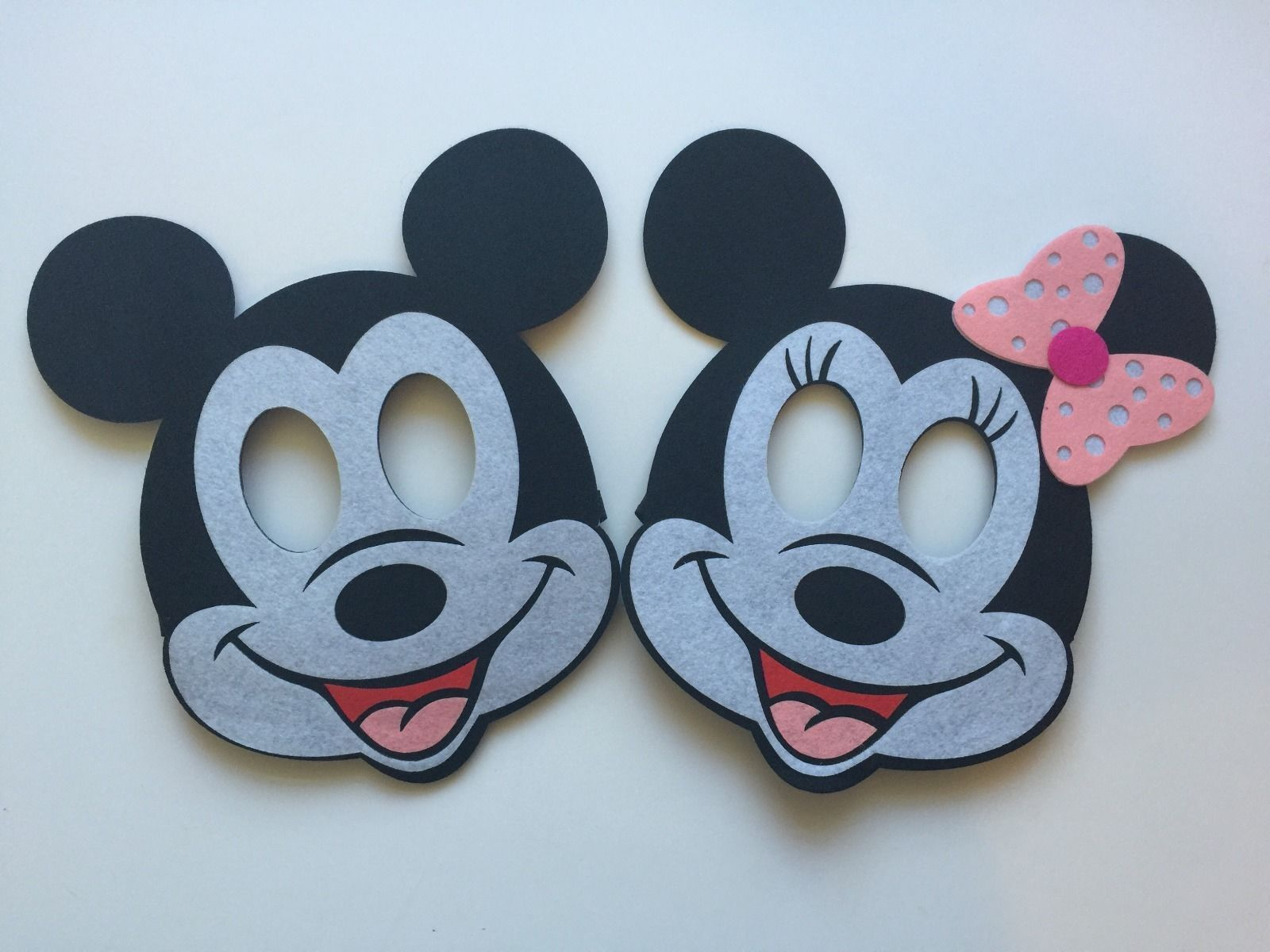 Mickey Mouse Birthday Masks 2 Piece Decorations Party Supplies Favors