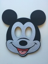 Mickey Mouse Birthday Masks 2 Piece Decorations Party Supplies Favors image 2