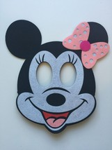 Mickey Mouse Birthday Masks 2 Piece Decorations Party Supplies Favors image 3