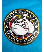 United States Marine Corps Drill Sergeant Bulldog Magnetic Decal Medium ... - $11.30
