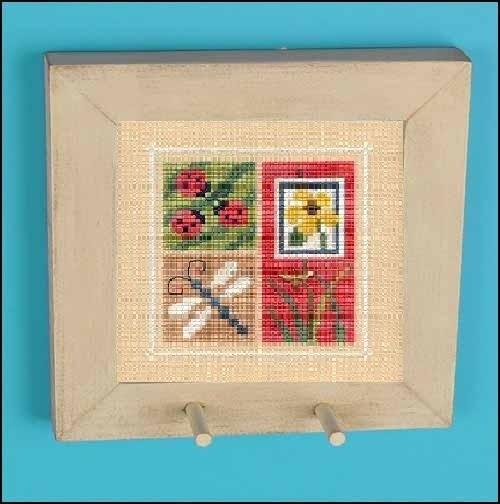 Adobe Ageworn Peg Pine Frame square 4 3/8 wooden Flip it frame