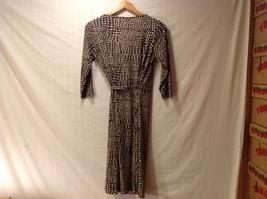 London Times Woman Giraffe Print Wrap Around Dress image 2
