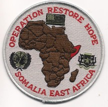 Operation Restore Hope Military Patch - $9.99