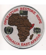 Operation restore hope military patch thumbtall