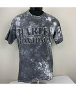 Vintage 1991 Harley Davidson T Shirt Single Stitch Tie Dye Medium Biker Trucker - $99.99