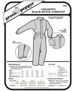 Children's Black Butte Jumpsuit Snowsuit Kids #140 (Sewing Pattern Only)... - $6.00