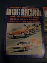 Vintage August 1973 Issue Of DRAG RACING USA Magazine Sctt Shafiroff But... - $4.94