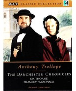 BARCHESTER CHRONICLES Dr. Thorne / Framley Parsonage (4) Audio Cassettes... - $29.75