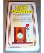 RADIO FAVORITES VOL.1 Original Broadcasts 6 Cassettes - $24.95