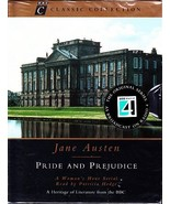 PRIDE AND PREJUDICE by JANE AUSTEN Sealed (4) Audio Cassettes BBC - $29.75