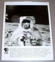 APOLLO ASTRONAUT ON MOON - PBS TV Promo Photo - $14.95