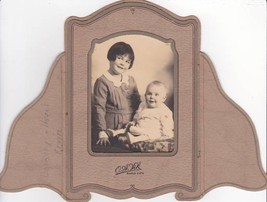 Dorothy & Hazel Ervin Cabinet Card Photo - Rapid City, South Dakota - $17.50