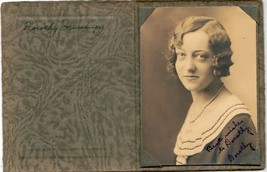 Dorothy Sweeney Cabinet Photo - Edward Little High School, Auburn Maine ... - $17.50