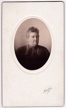 CAROLINE CARL CABINET CARD PHOTO MAINE - $17.50