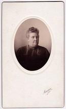 CAROLINE CARL CABINET CARD PHOTO MAINE - $17.50