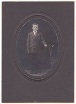 CLARENCE PACKARD CABINET CARD PHOTO (1912) - $17.50