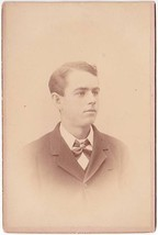 Herbert E. Carlton Cabinet Card Photo - $17.50