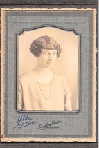 HILDA GREEN Cabinet Card Photo - Madison, Maine (1925) - $17.50