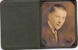 Lyndon Harris Vosmus Cabinet Photo - Edward Little High School, Auburn M... - $17.50