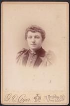 MABEL HARRINGTON Cabinet Card Photo - East Boston, Massachusetts - $17.50