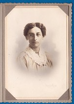 MINNIE NEWTON CABINET CARD PHOTO - Framingham, Massachusetts - $17.50
