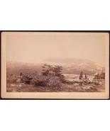 MONHEGAN ISLAND MAINE PANORAMIC CABINET PHOTO - $125.00
