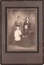 RUMBERGER FAMILY FOUR GENERATION Cabinet Card Photo - Shamokin, PA (Ivan... - $24.75