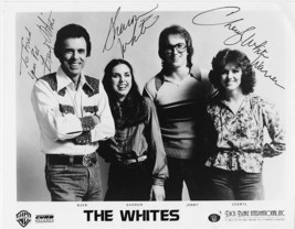 WHITES COUNTRY WESTERN BAND ORIGINAL AUTOGRAPH SIGNED 8x10 PHOTO - $35.00